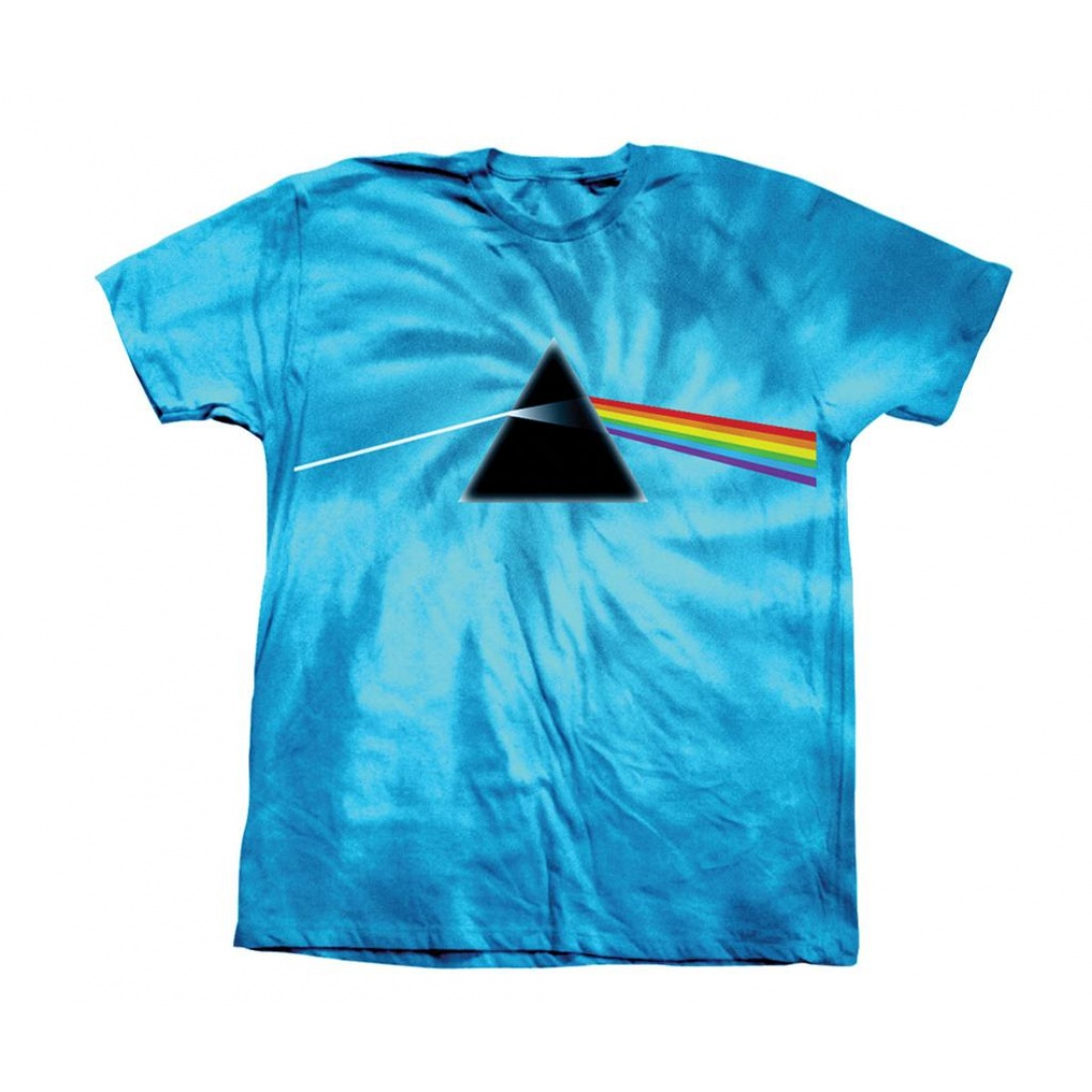 HB-DARKSIDE OF THE MOON TURQUOISE TIE-DYE TEE