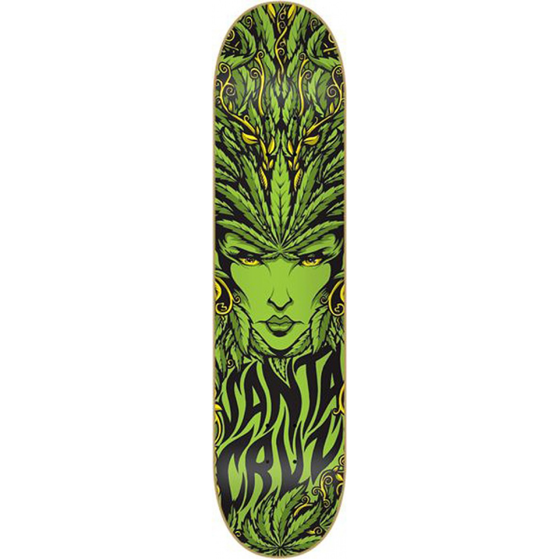 SCZ-Weed Goddess MD Powerply 8.1 Deck