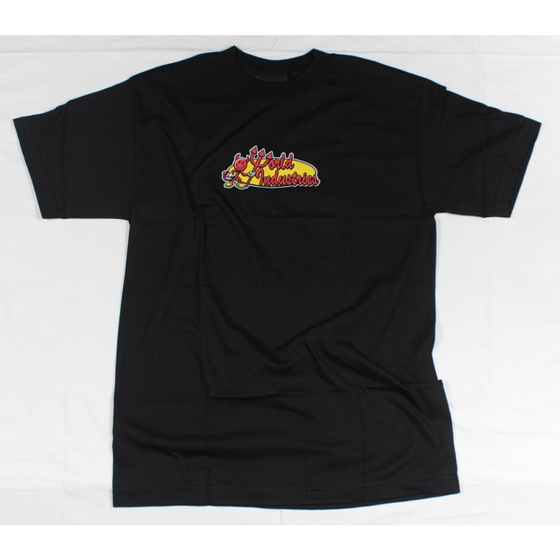 WLD-Devil Oval t-shirt Black Medium
