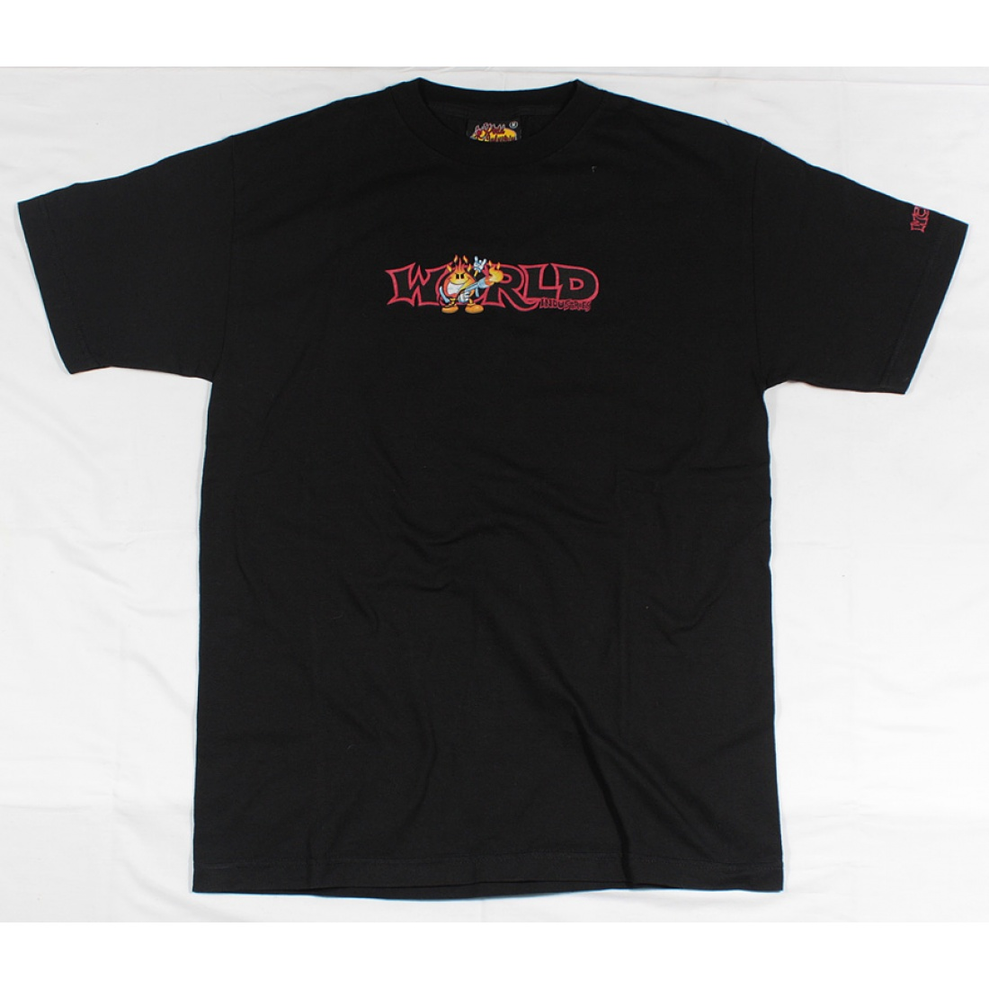 WLD-Fireworld Black T-shirt Small