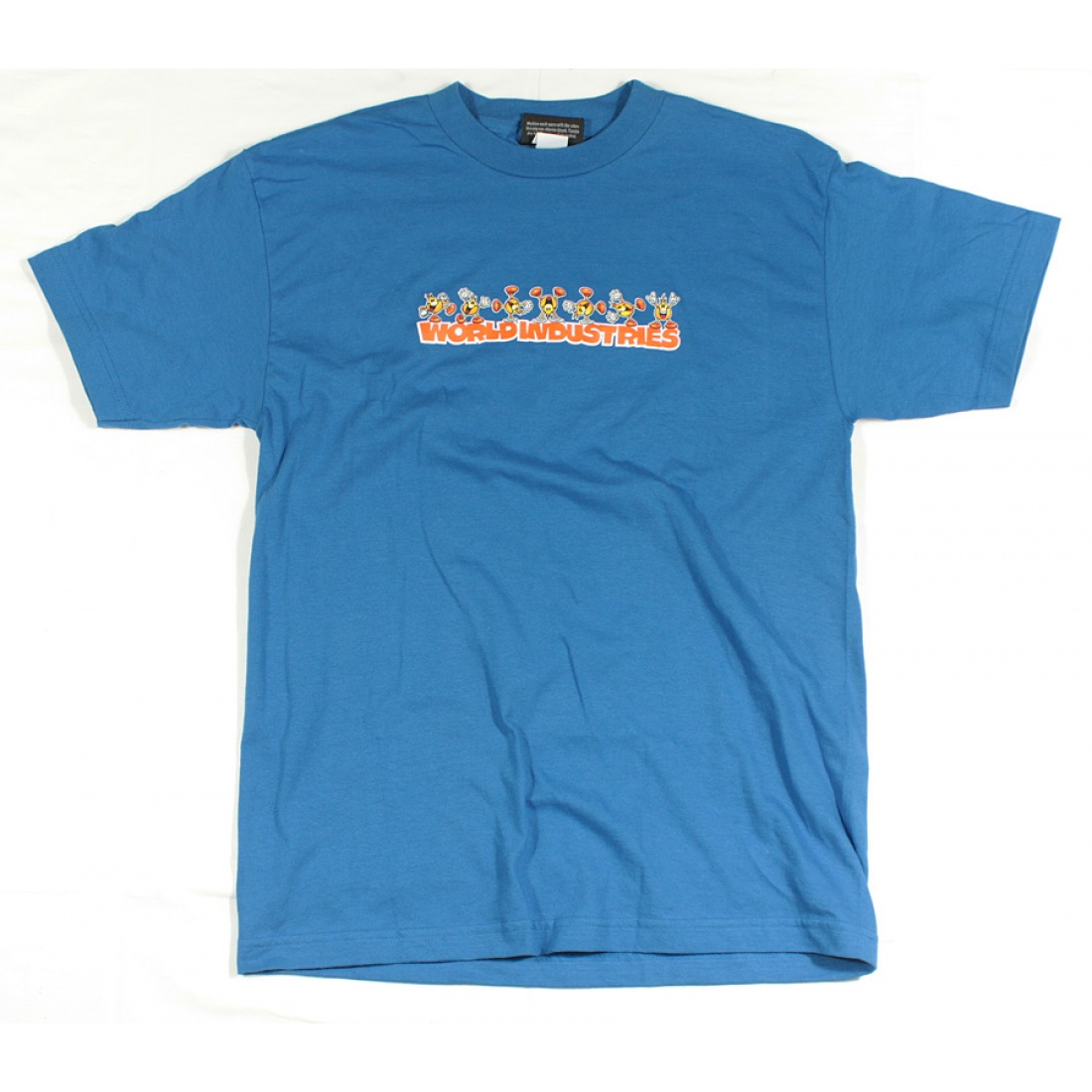 WLD-Flameboy Cart Wheel t-shirt Royal Blue Small