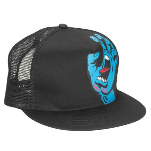 SCZ-Screaming Hand Trucker Mesh Hat Black OS Mens