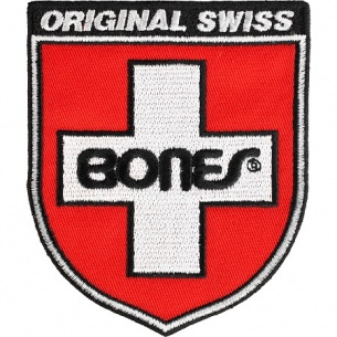 Bones Bearings Swiss Shield Patch