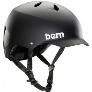 BRN-Matte Black Watts Hardhat Brock Foam Helmet