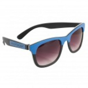 IND-Lost Boys Square Sunglasses Blk/Blue/Wht OS Unisex