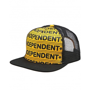 IND-Axle Bar Adjustable Mesh Hat Gold/Black OS Mens