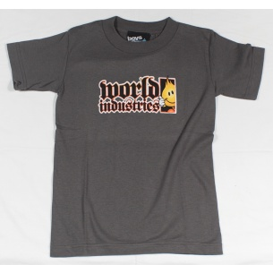 WLD-Flameboy Classic Boy Dark grey T-shirt Youth Small
