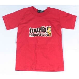 WLD-Flameboy Classic Boy Red T-shirt Youth Small