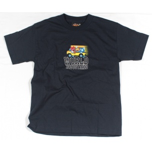 WLD-Short bus Navy t-shirt Youth Medium