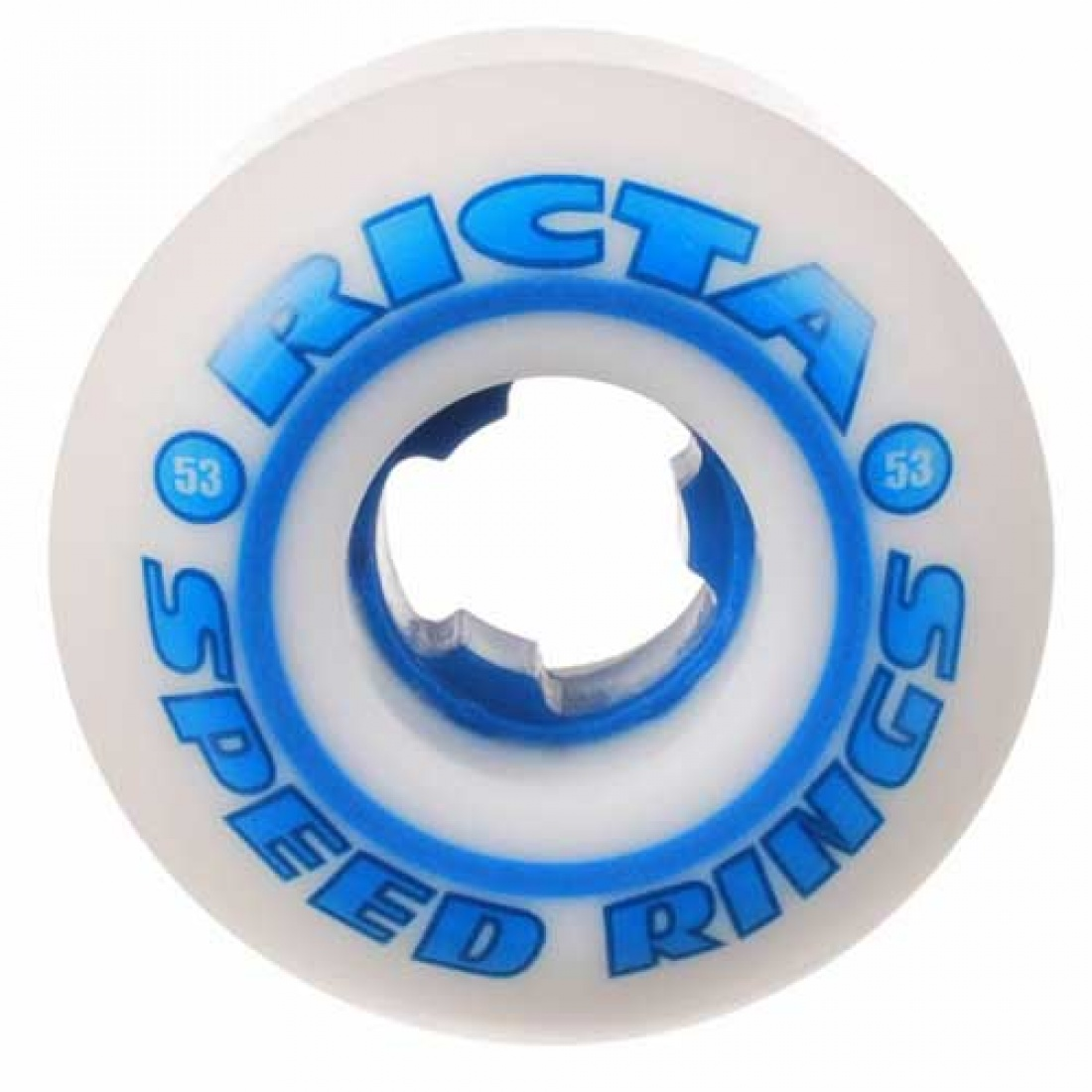 RCA-Speedrings 81b White/Blue 53mm (Set of 4)