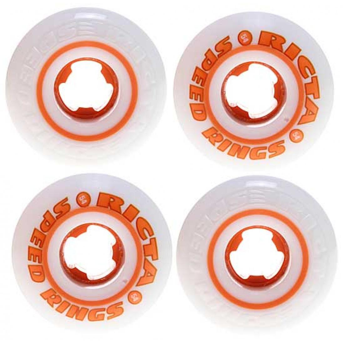 RCA-Speedrings 81b White/Orange 54mm (Set of 4)