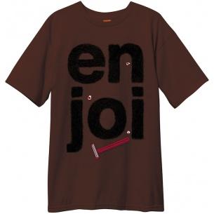 ENJ-Manscape Dark Chocolate Tee