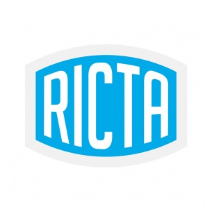RCA-Ricta Decal 4 in Clear Vinyl  Assorted Color