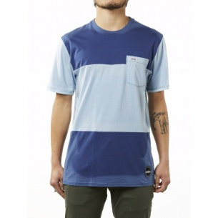 ETN-Quiggly Pocket Crew T-Shirt Blue