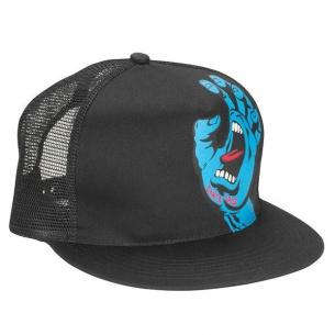 SCZ-Screaming Hand Trucker Mesh Hat Black OS Mens