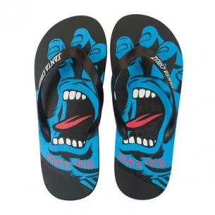 SCZ-Screaming Flip Flops Black Size 9 Mens