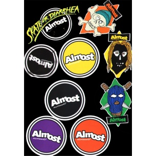 ALM-Medium Assorted Stickers (1 sticker)