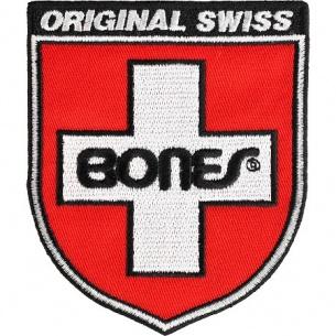 Bones Bearings Swiss Shield Patch