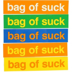 ENJ-Enjoi Bag of Suck Stickers (1 sticker)