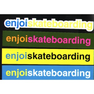 ENJ-Medium Assorted Stickers (1 Sticker)