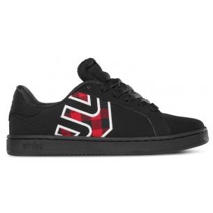 ETN-Fader LS Black/Red Girls Shoe