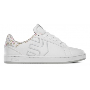 ETN-Fader LS White/White/Light Grey Girls Shoes