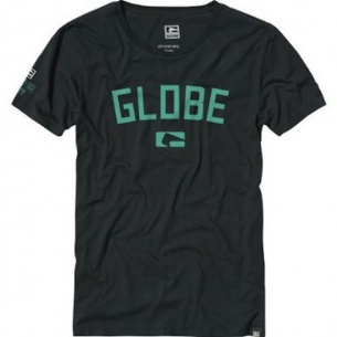 Globe Know Money Vitage Black Tee
