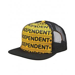 IND-Axle Bar Adjustable Mesh Hat Gold/Black OS Mens