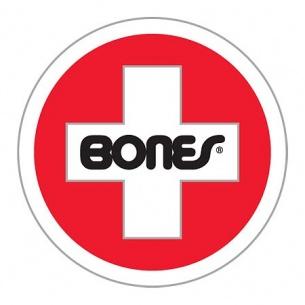 Bones Bearings Swiss Round Sm Sticker (1 Sticker)