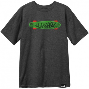 CLE-Trocadéro Charcoal Heather Tee