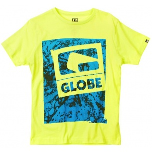 Globe Vapours Acid Yellow Tee