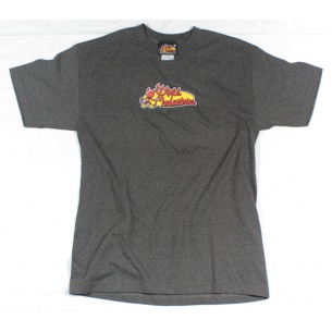 WLD-Devil Oval t-shirt Grey Small