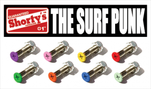 "SHORTY'S 1"" COLOR HARDWARE- SURF PUNK single"