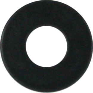 STANDARD FLAT WASHER BLACK (10 SAE)
