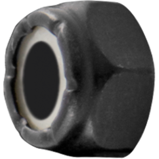 STANDARD LOCK NUT BLACK (10-32)