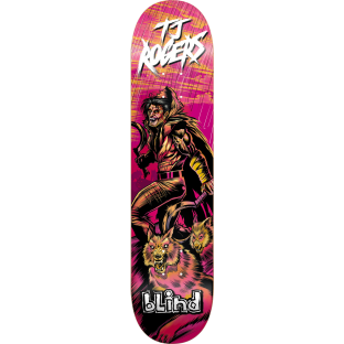 BLIND ROGERS WARRIOR DECK-8.0 resin7