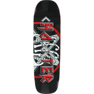 CHARACTER HATER DECK-8.9x32.5 BLK/RED