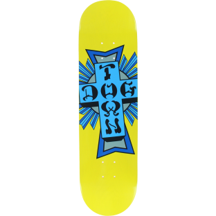 DOGTOWN STREET CROSS DECK-8.25 YELLOW