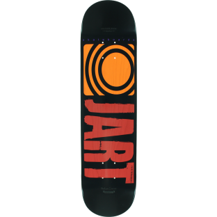 JART CLASSIC DECK-7.75 BLK/RED/ORG