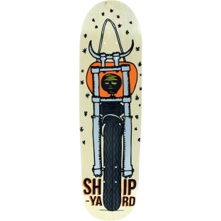 SHIPYARD MOTO DEVIL HR SHAPE DECK-9x31.5 NAT