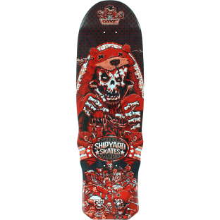 SHIPYARD SWF KRUSHER DECK-9.5x32.25 RED