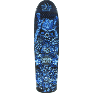 SHIPYARD SWF SON OF STRANGLER DECK-7.75x27 BLUE