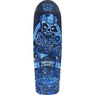 SHIPYARD SWF STRANGLER DECK-9.5x32.25 BLUE