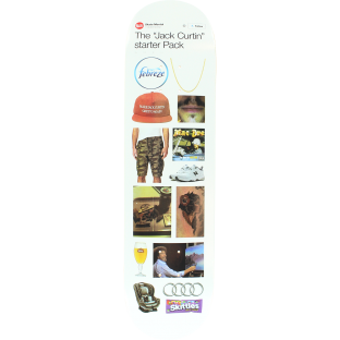 SKATE MENTAL CURTIN STARTER PACK DECK-8.12