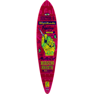 SEC9 SWITCHBLADE MORNING BREATH DECK-8.75x38 PNK