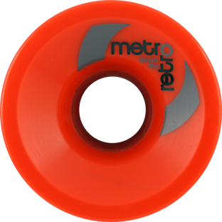 METRO RETRO FREERIDE 63mm 78a RED (Set of 4)