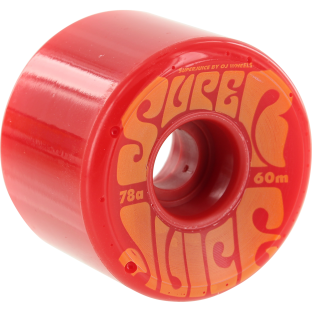OJ SUPER JUICE 60mm 78a RED/ORG (Set of 4)
