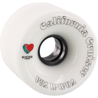 REMEMBER CALIFORNIA CRUISER 70mm 78a WHT/BLK (Set of 4)