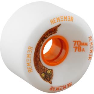 REMEMBER HOOT 70mm 78a WHITE (Set of 4)