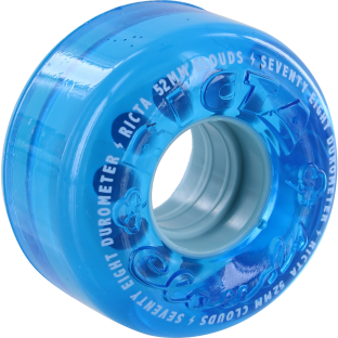 RICTA CRYSTAL CLOUDS 52mm 78a BLUE (Set of 4)